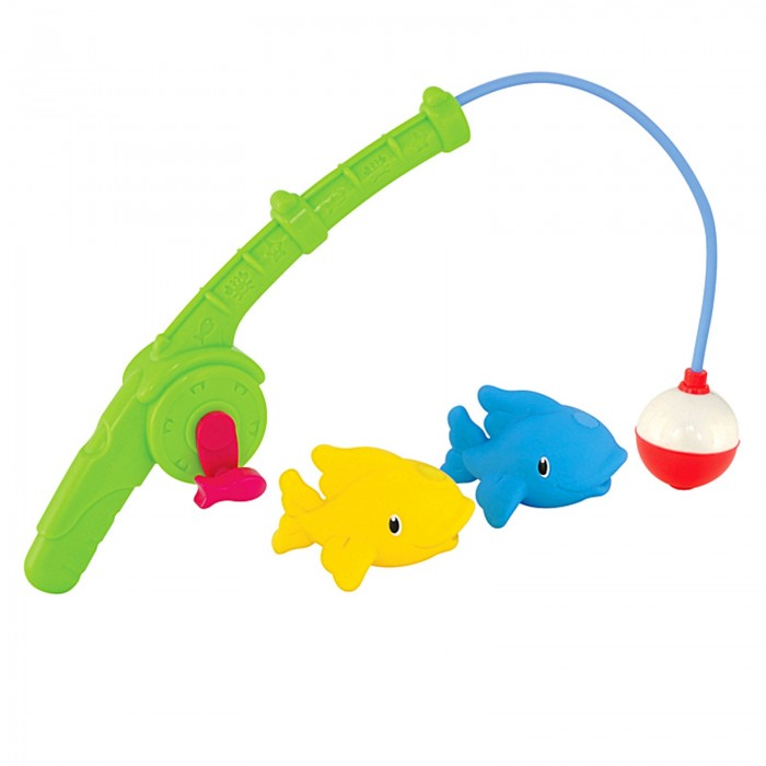 Игрушки для ванны Munchkin Игрушки для ванной Весёлая рыбалка игрушка для животных каскад удочка с микки маусом 47 см