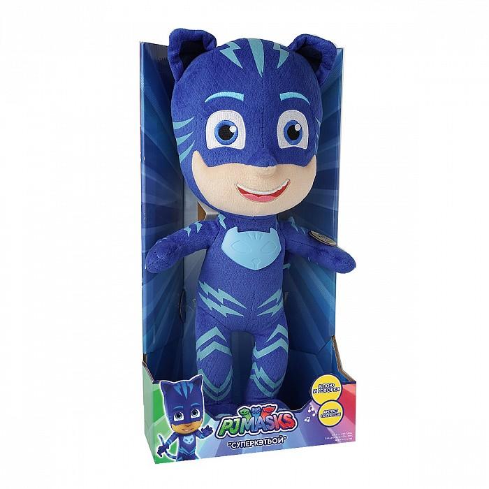 Мягкие игрушки Герои в масках (PJ Masks) Кэтбой 38 см мягкая игрушка герои в масках кэтбой 20см 33443