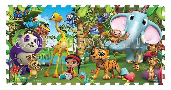 Игровые коврики Висспер 32921 (8 сегментов) игровые коврики funkids пазл симпл 6 без изображений