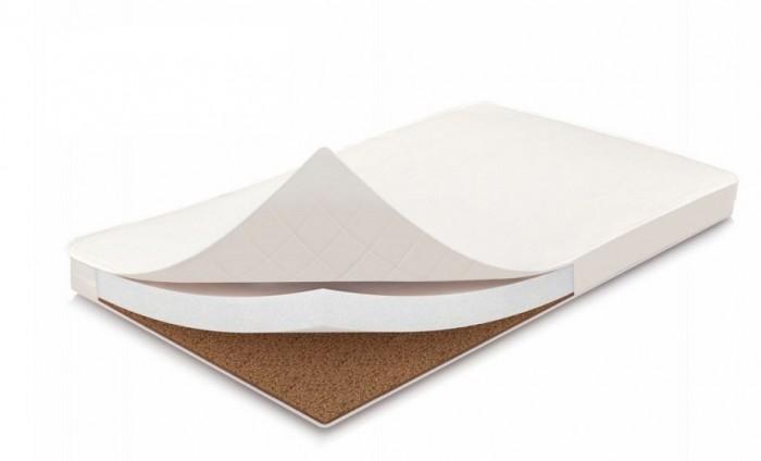 Матрас Polini Волшебные сны Классик 119х59х6 смМатрасы<br>Матраc Polini Волшебные сны Классик 119х59х6 см кокос, бязь-матрас с разными сторонами жесткости, сочетающий в себе ортопедические и анатомические свойства.   Способствует формированию правильной осанки. Верхний слой - латексированная кокосовая плита толщиной 1 см.(для использования новорожденным) Нижний слой - струттофайбер, объемный гипоаллергенный экологически чистый материал, толщиной 5 см. В состав дополнительно добавлен нетканый материал - спанбонд. Съемный чехол из 100% хлопка на молнии облегчит уход за изделием. Размеры: 119 х 59 х 6 см