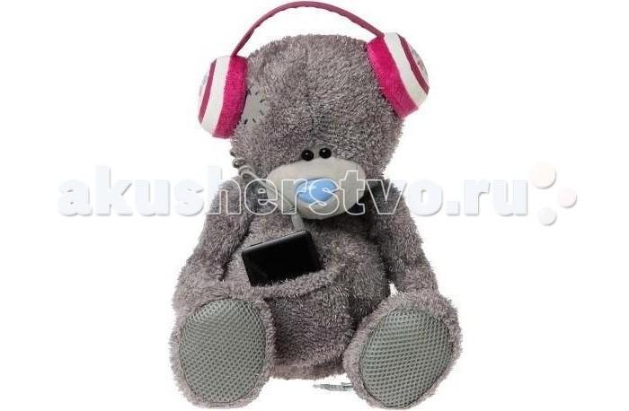 Мягкая игрушка Me to You Мишка Тедди со звуком G01W2855Мишка Тедди со звуком G01W2855Мягкая игрушка Me to You Мишка Тедди со звуком привлечет внимание любого ребенка. Модель сделана из приятных на ощупь и очень мягких материалов, безвредных для малыша. С такой забавной игрушкой можно смело засыпать в кроватке или отправляться на прогулку. Игрушка подойдет для детей от 3 лет.  Просто поместите ваш MP3-плеер в специальную сумочку, прикрепите, и слушайте, как он играет все ваши любимые песни для Вас! Вы даже можете настроить громкость, сжимая его левую и правую лапы!  Очаровательный мишка - самый лучший подарок как для ребенка, так и для взрослого!<br>