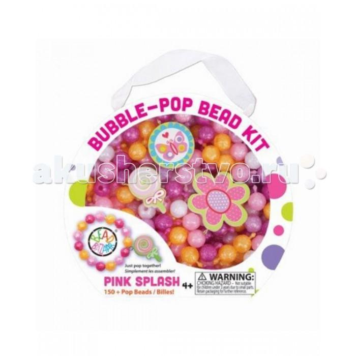 Bead Bazaar Набор Разноцветные пузыри Розовые брызги 277 bead bazaar трапеция