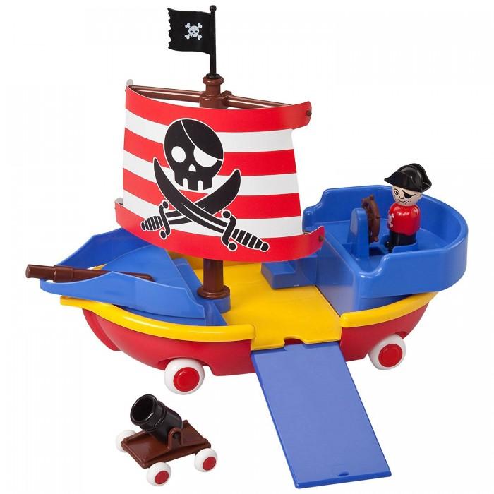 цены Игровые фигурки Viking Toys Корабль пирата 40 см с 1 пушкой и 1 фигуркой