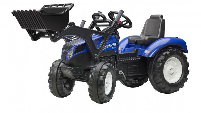 Детский транспорт , Педальные машины Falk Трактор-экскаватор педальный 134 см арт: 390349 -  Педальные машины