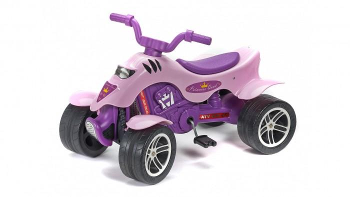 Детский транспорт , Педальные машины Falk Квадроцикл Принцесса 84 см арт: 390359 -  Педальные машины