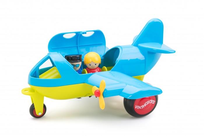 Вертолеты и самолеты Viking Toys Самолет Джамбо с 1 фигуркой вертолеты и самолеты green toys самолет