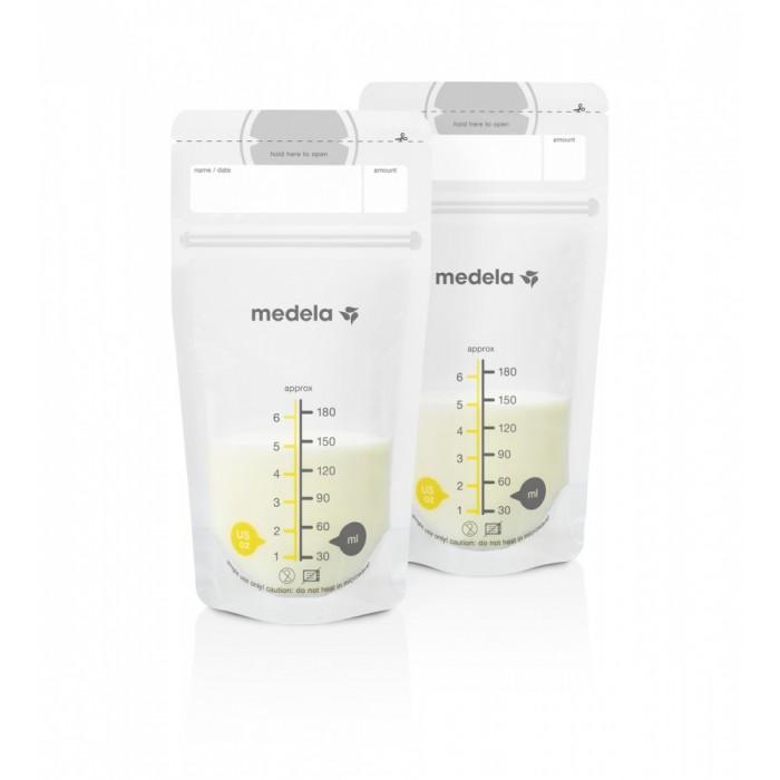 Аксессуары для кормления , Контейнеры Medela Пакеты одноразовые для хранения грудного молока 50 шт арт: 390624 -  Контейнеры