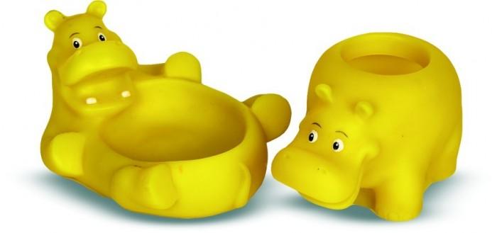 Аксессуары для ванн Весна Игрушки для ванны Бегемотики игрушки для детей