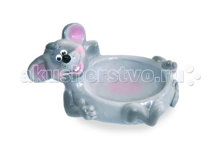 Аксессуары для ванн Весна Игрушка для ванны Мыльница-мышонок