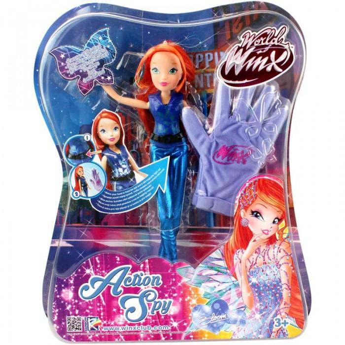 Куклы и одежда для кукол Феи Винкс (Winx Club) Кукла Wow Шпионка Блум куклы winx кукла winx club wow лофт блум