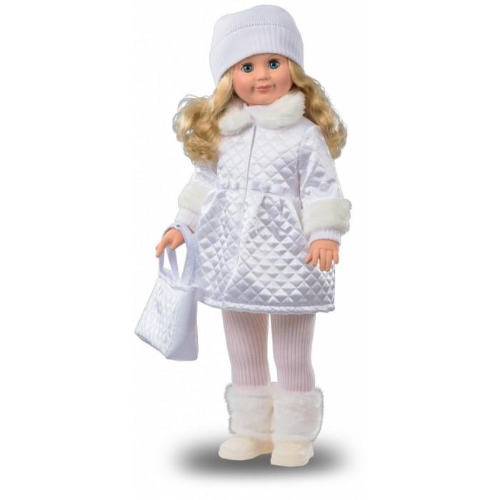 Весна Кукла Милана 18Кукла Милана 18Весна Кукла Милана 18 из зимней коллекции уже готова к холодам.   Продуманные детали ее костюма стимулируют фантазию ребенка, игрушку интересно переодевать. С помощью Миланы девочке легко объяснить разницу между временами года, подобрать подходящие наряды для каждого сезона. А то, что кукла умеет говорить, сделает ее любимицей вашего ребенка.  Комплектация: Кукла Милана 70 см Вязаный свитер Колготочки Шапка Меховые гетры Стильная курточка Ботиночки Особенности: На спине Миланы расположен звуковой модуль. Нажмешь на него, и кукла начинает говорить, подсказывая ребенку различные игровые сюжеты. Продуманный костюм со множеством делателей развивает вкус девочки. Переодевая игрушку, ребенок улучшает мелкую моторику, учится аккуратности и заботе о других.  Волосы куклы изготовлены из нейлона. Их можно завивать и заплетать, меняя Милане прически. Придумывайте новый образ так часто, как только захотите! Руки и ноги куклы виниловые, поэтому ее легко переодевать. Милана умеет стоять и сидеть, а вот купать ее не рекомендуется из-за наличия звукового устройства.<br>