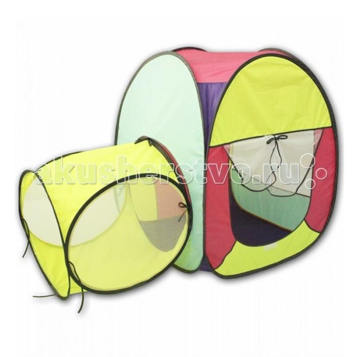 Палатки-домики Belon Квадратная палатка с тоннелем 1 секция