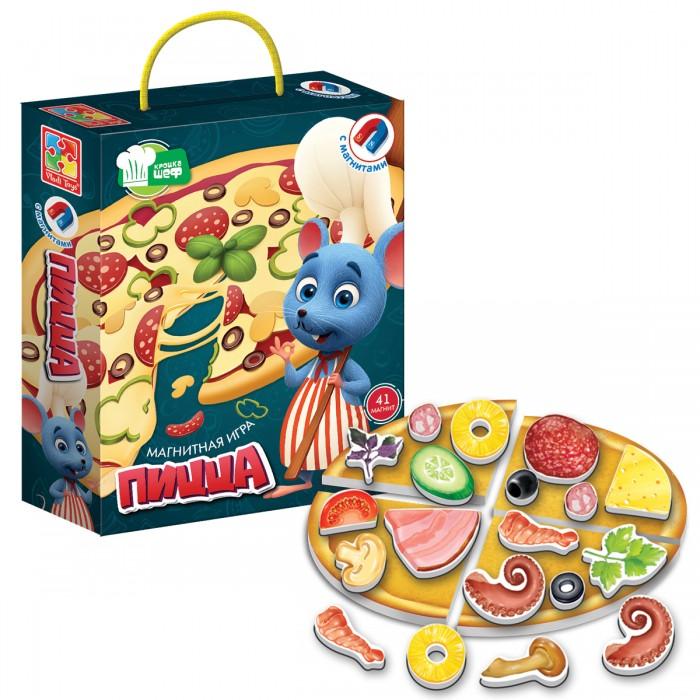 Vladi toys Магнитная игра Крошка Шеф Пицца