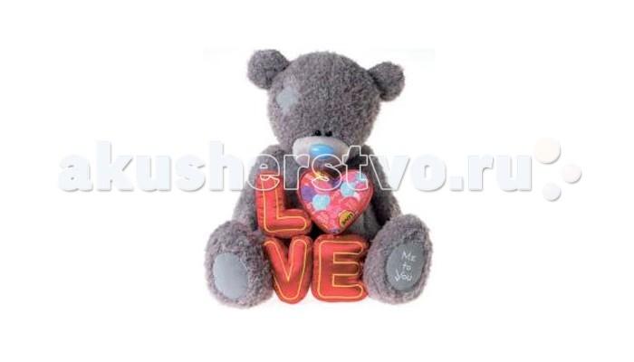 Мягкая игрушка Me to You Мишка Тедди Love 71 смМишка Тедди Love 71 смМягкая игрушка Me to You Мишка Тедди Love – самый лучший подарок как для ребенка, так и для взрослого! Забавная игрушка сделана из приятного и очень мягкого плюша, безвредного для малыша. С такой милой игрушкой можно смело засыпать в кроватке или отправляться на прогулку.   Очаровательный мишка - самый лучший подарок как для ребенка, так и для взрослого!<br>