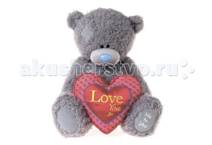 Мягкая игрушка Me to You Мишка Тедди с сердцем 40 смМишка Тедди с сердцем 40 смМягкая игрушка Me to You Мишка Тедди с сердцем – самый лучший подарок как для ребенка, так и для взрослого! Забавная игрушка сделана из приятного и очень мягкого плюша, безвредного для малыша. С такой милой игрушкой можно смело засыпать в кроватке или отправляться на прогулку.   Очаровательный мишка - самый лучший подарок как для ребенка, так и для взрослого!<br>