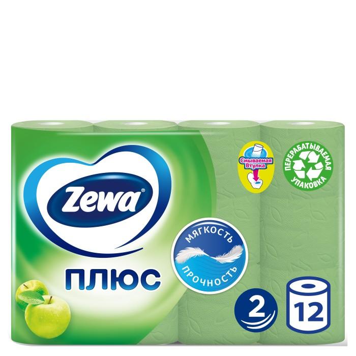 Хозяйственные товары Zewa Туалетная бумага Плюс с ароматом яблока 12 шт