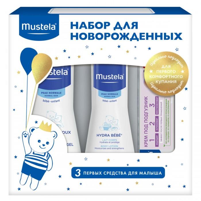 Гигиена и здоровье , Косметика для новорожденных Mustela Набор подарочный для новорожденных арт: 391514 -  Косметика для новорожденных