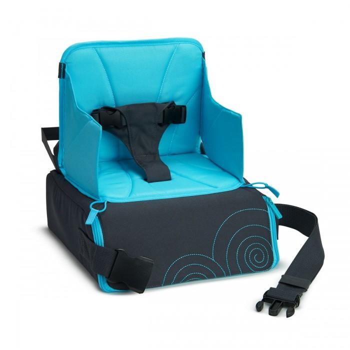 Стульчик для кормления Munchkin для путешествий 2 в 1для путешествий 2 в 1Стульчик для кормления Munchkin для путешествий 2 в 1 - специальное кресло-сиденье для поездок.  переносная сумка трансформируется в кресло-сиденье  регулируемая высота надежный внутренний каркас для устойчивости внутренний карман помогает упорядочивать и хранить предметы максимальный предельный вес 50 фунтов (&#8776;23 кг) вес 1 кг,  габариты сиденья 27 х 27 см, высота без спинки 12 см габариты в сложенном виде 29.5 Х 30 Х 14.5  Кредо Munchkin, американской компании с 20-летней историей: избавить мир от надоевших и прозаических товаров, искать умные инновационные решения, которые превращает обыденные задачи в опыт, приносящий удовольствие. Понимая, что наибольшее значение в быту имеют именно мелочи, компания создает уникальные товары, которые помогают поддерживать порядок, организовывать пространство, облегчают уход за детьми – недаром компания имеет уже более 140 патентов и изобретений, используемых в создании ее неповторимой и оригинальной продукции. Munchkin делает жизнь родителей легче!<br>