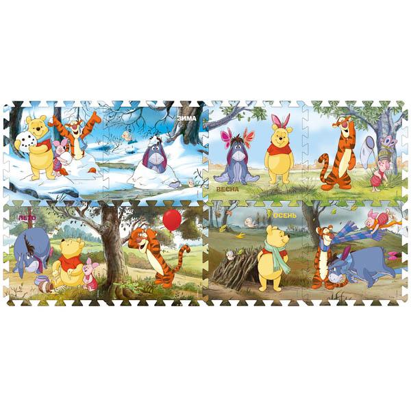 Игровые коврики Играем вместе Винни Пух (Disney) коврик-пазл пазл 3d 60 элементов step puzzle disney винни пух 98108