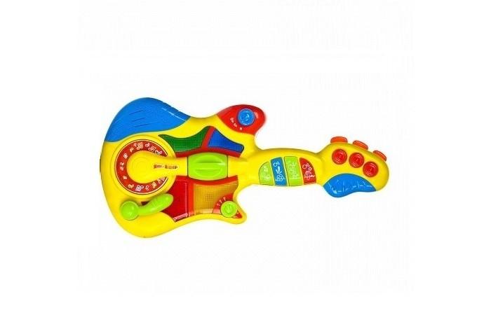 Музыкальные игрушки Играем вместе Электрогитара Маша и Медведь игрушки для ванной играем вместе набор для купания маша и медведь