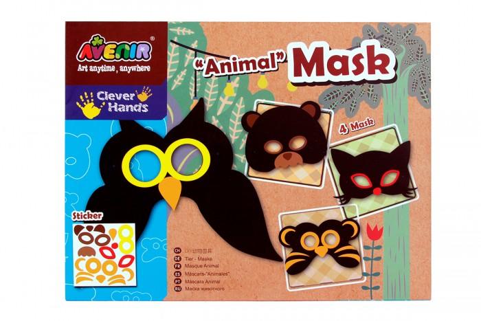 Наборы для творчества Avenir Набор для декорирования масок Животные наборы для творчества avenir набор для гравировки волшебные птички