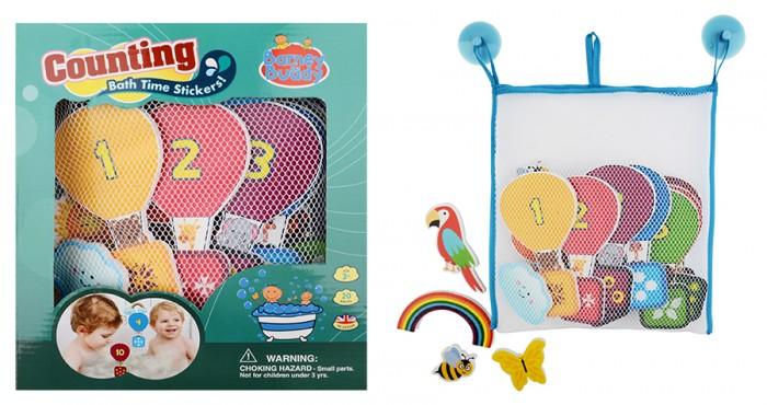 Купание малыша , Игрушки для ванны Barney&Buddy Стикеры для ванны Учимся считать арт: 392489 -  Игрушки для ванны
