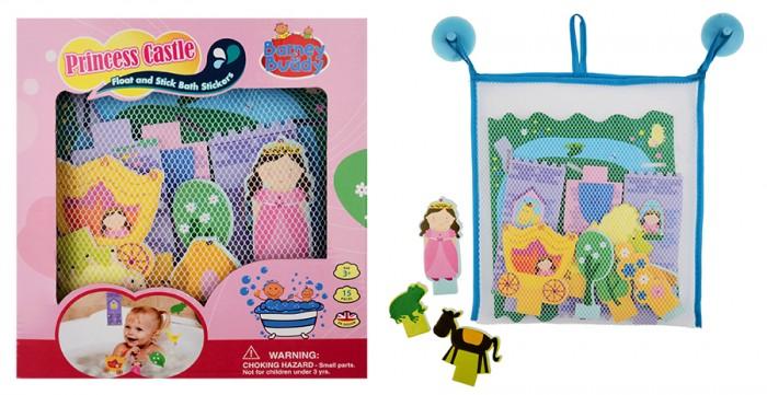 Игрушки для ванны Barney&Buddy Стикеры для ванны Замок принцессы игрушки для ванны флексика мозаика набор для ванны замок