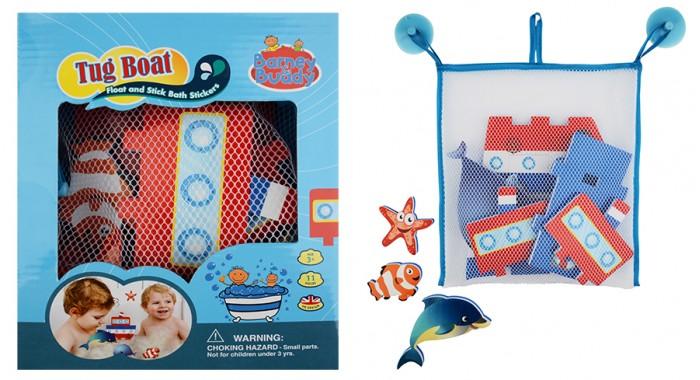 Игрушки для ванны Barney&Buddy Стикеры для ванны Построй параходик barneybuddy barneybuddy игрушки для ванны стикеры веселая ферма