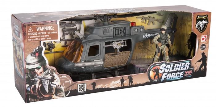 Игровые наборы Chap Mei Игровой набор Soldier Force Десантный вертолет игровые наборы tomy игровой набор приключения трактора джонни и лошади на ферме