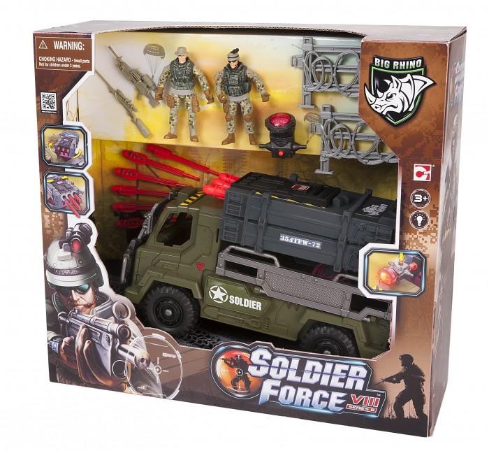 Chap Mei Игровой набор Soldier Force Мобильный ракетный комплекс (свет, стрельба)