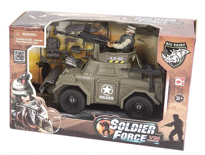 Игровые наборы Chap Mei Игровой набор Soldier Force Броневик спецназа игровые наборы tomy игровой набор приключения трактора джонни и лошади на ферме