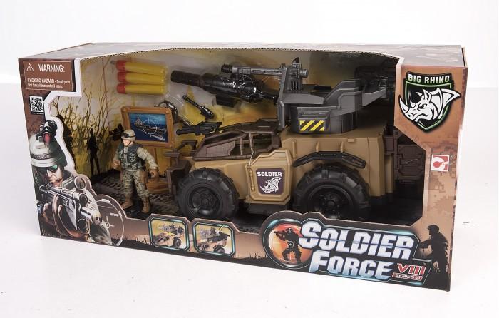 Купить Игровые наборы, Chap Mei Игровой набор Soldier Force Ударный броневик