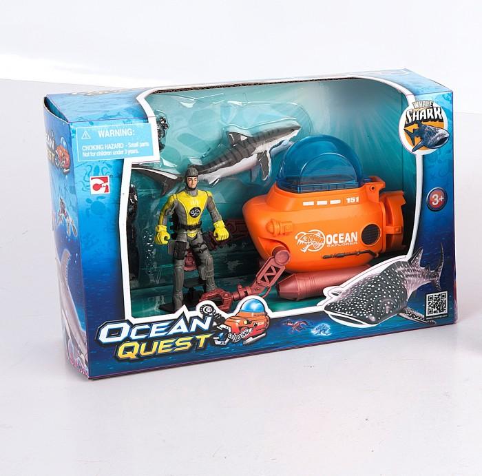 Игровые наборы Chap Mei Игровой набор Ocean Quest Батискаф акванавтов серова м клад белой акулы