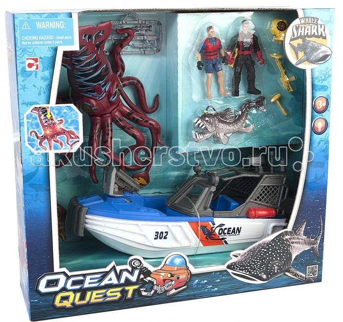 Игровые наборы Chap Mei Игровой набор Ocean Quest Опасное приключение акванавтов (свет) игровые наборы tomy игровой набор приключения трактора джонни и лошади на ферме