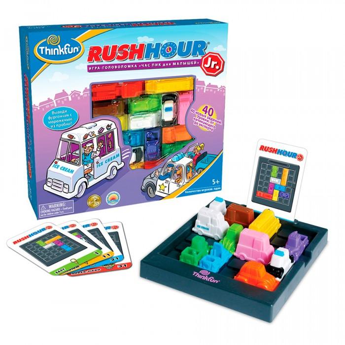 Настольные игры Thinkfun Настольная игра Час пик для малышей игры для малышей игр и ко настольная игра красавица и чудовище