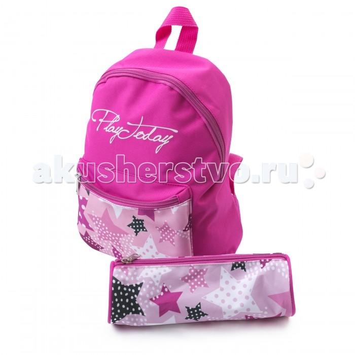 Развитие и школа , Школьные рюкзаки Playtoday Сумка текстильная для девочек 2 шт. Я  принцесса 172752 арт: 393474 -  Школьные рюкзаки