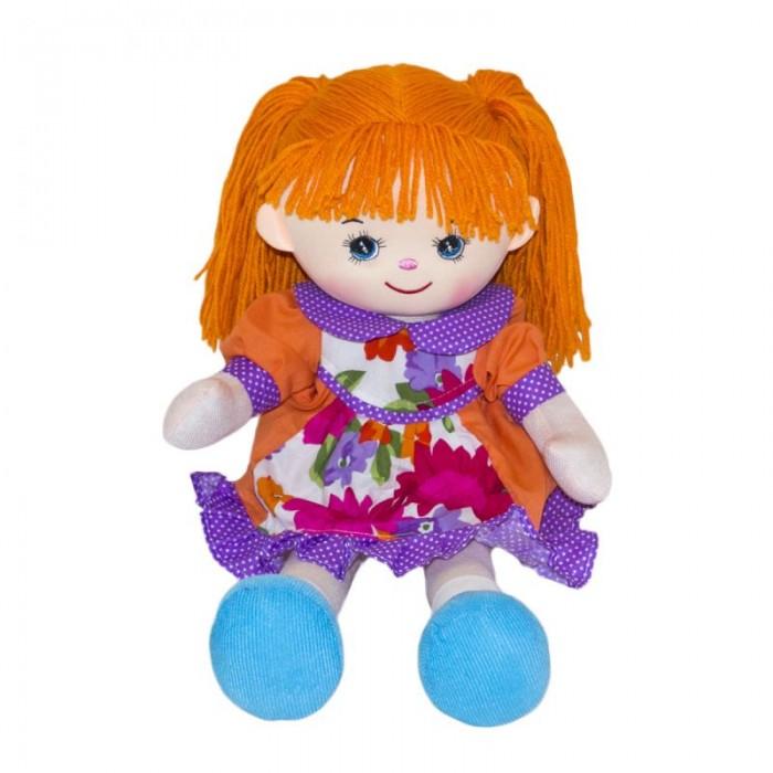 Куклы и одежда для кукол Gulliver Мягкая кукла Гвоздичка 30 см игрушка мягкая gulliver кукла хозяюшка 30см