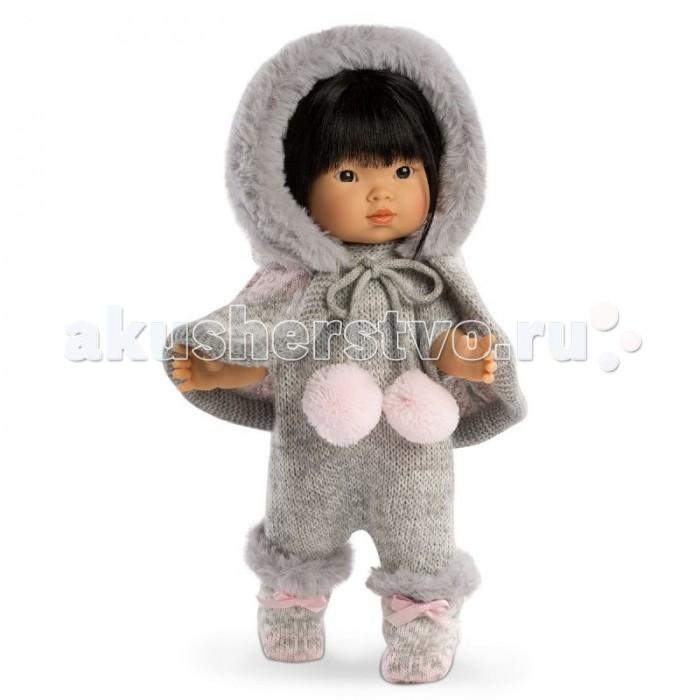 Куклы и одежда для кукол Llorens Кукла Валерия азиатка 28 см L 28020 куклы и одежда для кукол llorens кукла изабела 33 см со звуком