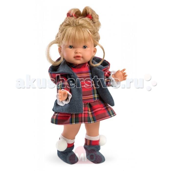 Куклы и одежда для кукол Llorens Кукла Валерия 28 см L 28021 куклы и одежда для кукол llorens кукла алиса 33 см со звуком
