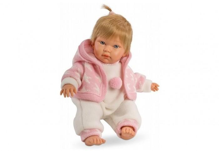 Llorens Кукла Кука 30 см L 30002Кукла Кука 30 см L 30002Кукла Llorens Кука 30 см L 30002 - реалистичная куколка с ямочками и складочками на ручках и ножках.  Милая куколка очень похожа на настоящую девочку с младенческим личиком, пухлыми щечками и складочками на ручках и ножках.   У малышки пухлые губки, круглые щечки и выразительные глазки. Малышка имеет светлые прямые волосы с челкой, которые легко расчесывать. Куколка одета в нарядный костюмчик белого цвета и розовую теплую кофточку с капюшоном.    Особенности:  Личико подробно и детально проработано, черты лица тонкие и аккуратные.  Кукла изготовлена из приятного на ощупь винила с запахом ванили, ручки и ножки ее подвижны, что позволяет легко переодевать куколку и придавать ей различные игровые позы.   Волосы отличаются густотой, шелковистостью и блеском, при расчесывании они не выпадают и не ломаются.  Волосы прошиты по всей голове. Высота: 30 см<br>