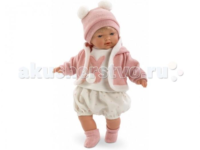 Куклы и одежда для кукол Llorens Кукла Кэрол 33 см L 33276 куклы и одежда для кукол llorens кукла изабела 33 см со звуком