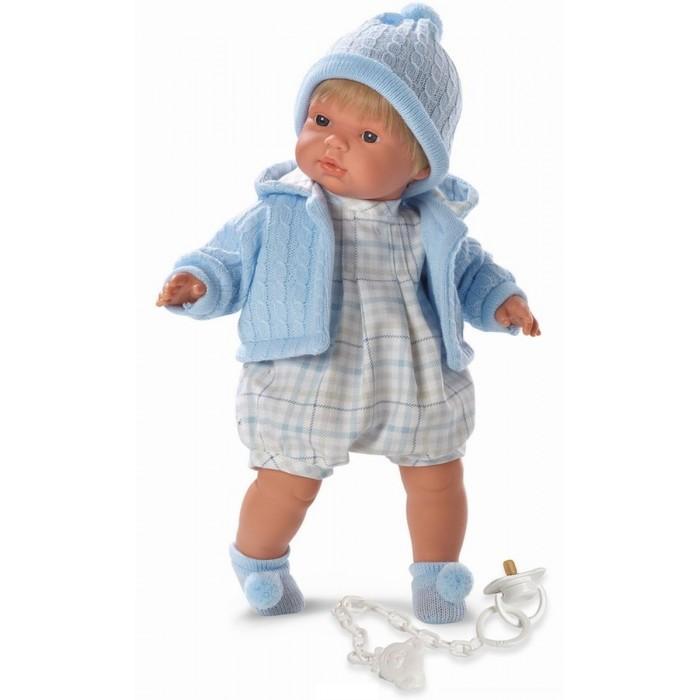 Куклы и одежда для кукол Llorens Кукла Пабло 38 см куклы и одежда для кукол llorens кукла клавдия 38 см со звуком