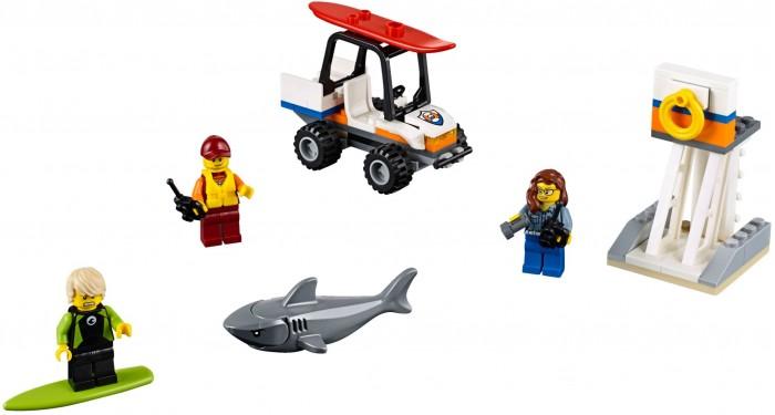 Lego Lego City 60163 Лего Город Набор для начинающих Береговая охрана lego lego city 60106 набор для начинающих пожарная охрана
