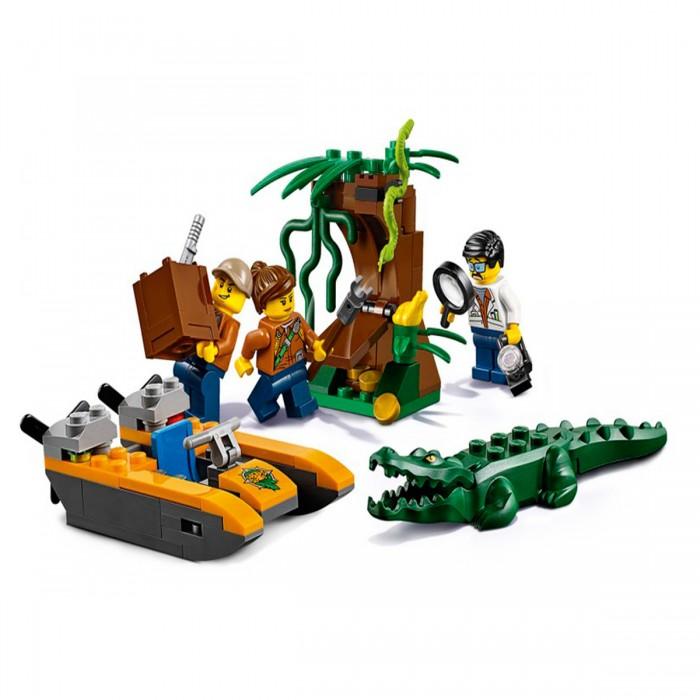 Lego Lego City 60157 Лего Город Набор для начинающих Джунгли конструкторы lego lego грузовой вертолёт исследователей джунглей city jungle explorer 60158