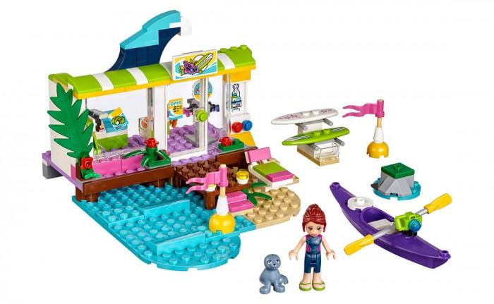 Lego Lego Friends 41315 Лего Друзья Серф Станция Мии lego friends со сменным элементом