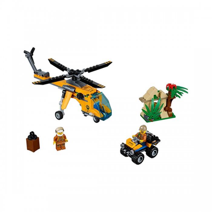 Lego Lego City 60158 Лего Город Грузовой вертолет исследователей джунглей конструкторы lego lego city jungle explorer база исследователей джунглей 60161