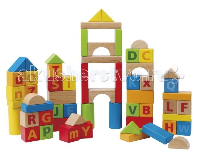 Деревянные игрушки Hape Конструктор Е8007 (60 деталей)