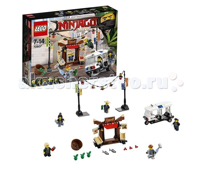 Lego Lego Ninjago 70607 Лего Ниндзяго Ограбление киоска в Ниндзяго Сити