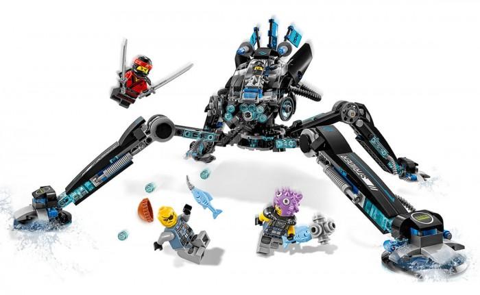 Lego Lego Ninjago 70611 Лего Ниндзяго Водяной робот lego lego ninjago 70611 лего ниндзяго водяной робот