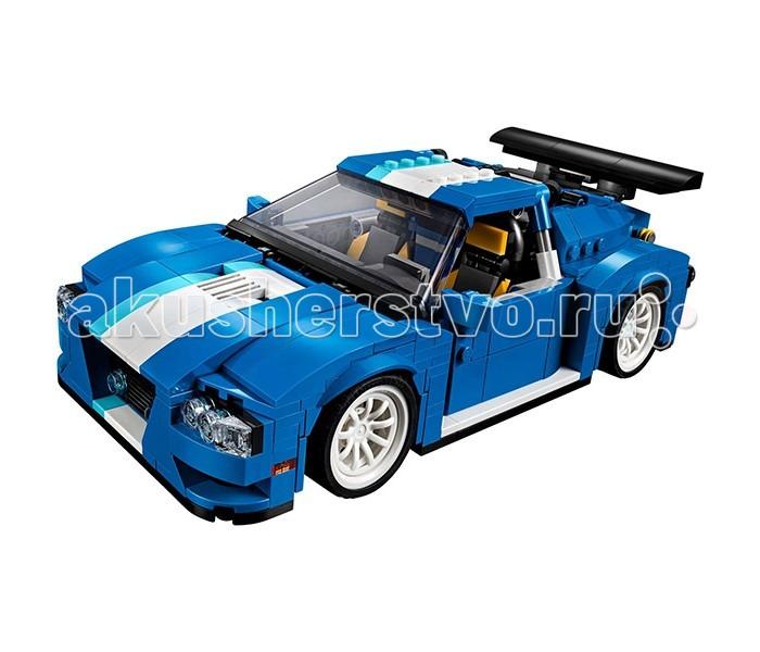 Конструктор Lego Creator 31070 Лего Криэйтор Гоночный автомобильCreator 31070 Лего Криэйтор Гоночный автомобильКонструктор Lego Creator 31070 Лего Криэйтор Гоночный автомобиль позволяет собрать не одну, а три модели автомобиля.  Особенности: Ребенок может на выбор собрать гоночный автомобиль класса люкс, мощный снегоуборочный автомобиль или стильный багги Машинкам придают реализма такие мелочи, как тонированное переднее стекло, большие колеса, открывающийся капот и фары. Спокойный синий цвет придает моделям классический и серьезный вид В комплекте имеются 4 оранжевых конуса, которые можно использовать для тренировок или ограждения гоночной зоны Конструктор Lego Creator помогает развить у ребенка усидчивость и внимательность С такими машинами можно смело устраивать гонки даже в заснеженную погоду, ведь снегоуборочная машина спасет положение и супер кар сможет продолжить свое участие. Количество деталей: 664 шт. Размер гоночного автомобиля: 7 х 22 х 12 см. Размер автопогрузчика: 14 х 22 х 10 см. Размер болида: 5 х 23 х 12 см.<br>